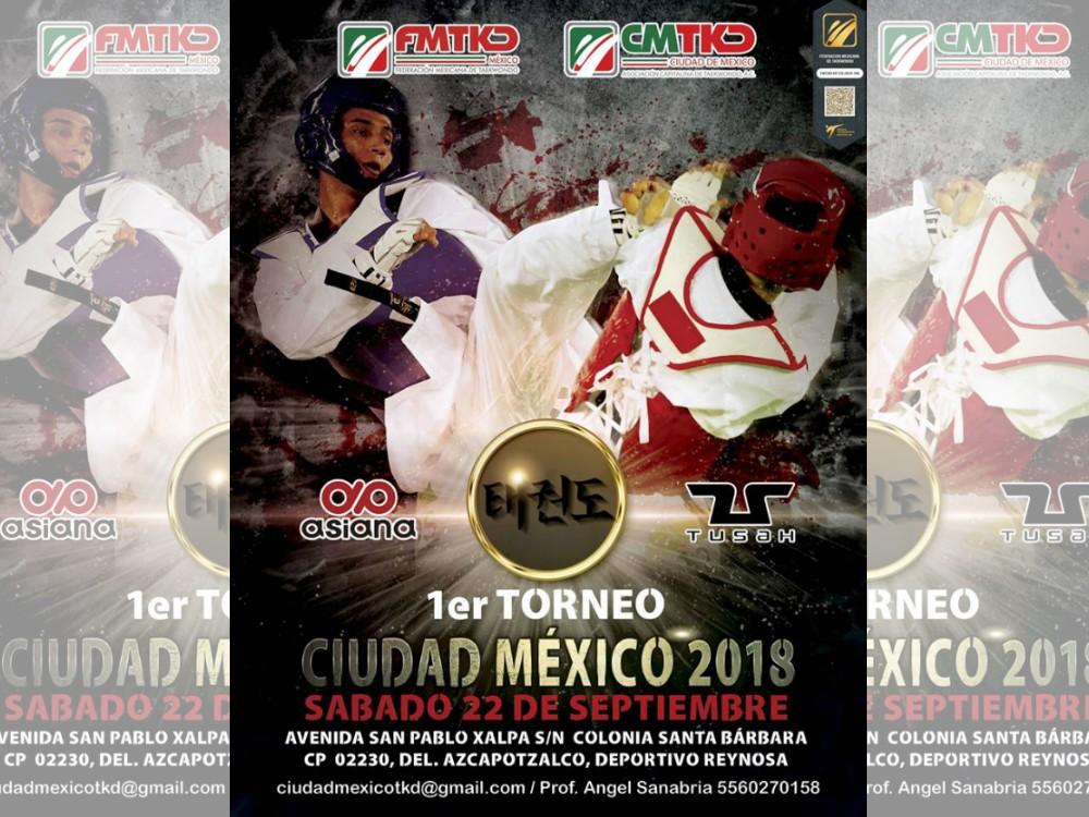Amantes y aficionados de taekwondo de todos los niveles se darán cita en el Deportivo Reynosa donde se llevará a cabo el 1er Torneo Ciudad de México 2018, en el que se busca promocionar y proyectar el arte marcial de las escuelas formativas en la capital de país.