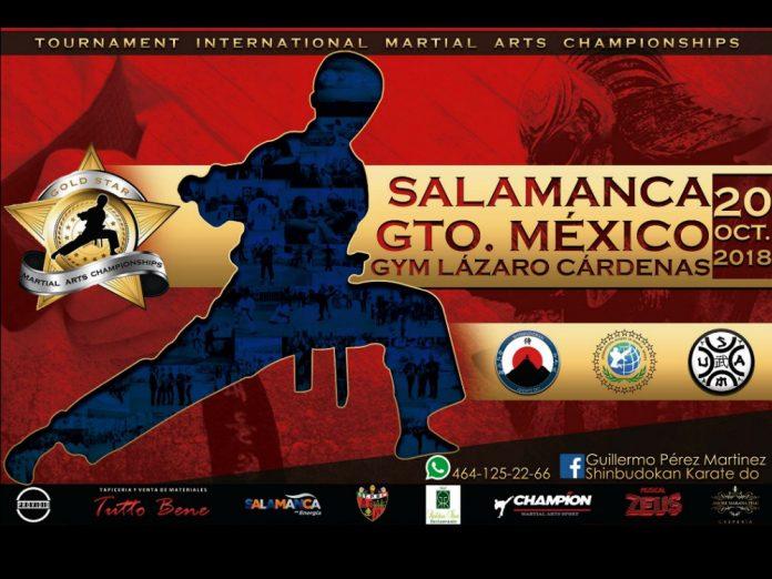 A unas semanas de que se lleve a cabo el V Campeonato de Artes Marciales 'Gold Star' Salamanca 2018, en Guanajuato, sigue en aumento el número de patrocinadores del sector del comercial e industrial.