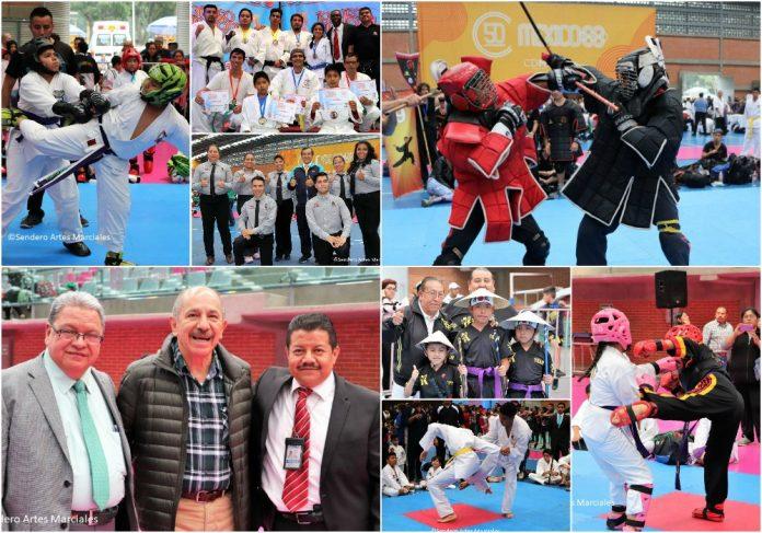 La fraternidad entre diferentes artes marciales y deportes estuvieron presentes en el Torneo Nacional de la Amistad Marcial 2018, en donde se congregaron organizaciones federadas, independientes y del sistema libre, así como funcionarios de gobierno y del deporte.