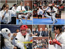 """Emocionantes y contundentes combates de karate kyokushinkai se vivieron durante el The 2nd Open Tournament: """"All American Toeikan Karate Championship"""", realizado el pasado fin de semana en CDMX."""