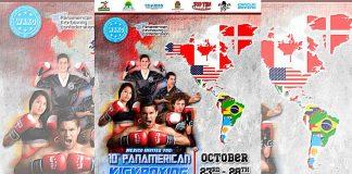 Selecciones nacionales de al menos 17 países del continente americano se encuentran listas para acudir al 10º Campeonato Panamericano de Kickboxing Cancún 2018.