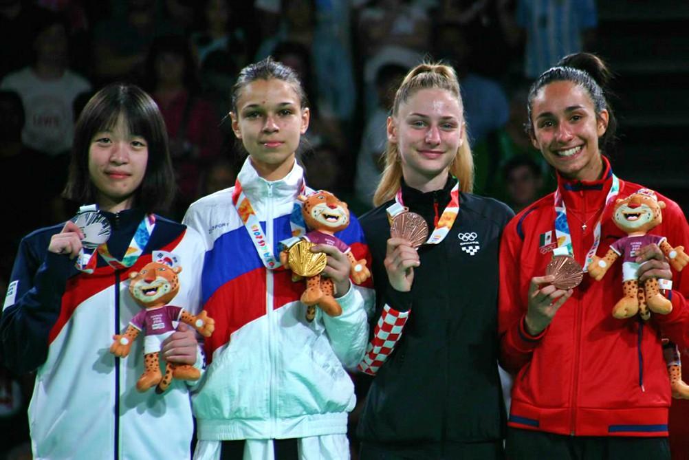 El taekwondo de México obtuvo la primera medalla para el país en Juegos Olímpicos de la Juventud Buenos Aires 2018, gracias a la atleta Alicia Rodríguez.