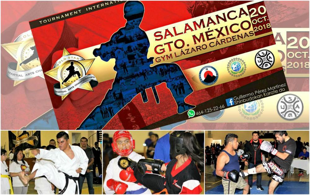 Ahora sí. Todo se encuentra listo para el V Campeonato de Artes Marciales 'Gold Star' Salamanca 2018, en Guanajuato.