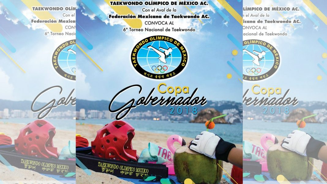 Con un contingente de 45 atletas, la Selección de Taekwondo de la Ciudad de México (CDMX), está lista para la Copa Gobernador 2018, en Acapulco, Guerrero, la cual está considerada como un evento de categoría G3.