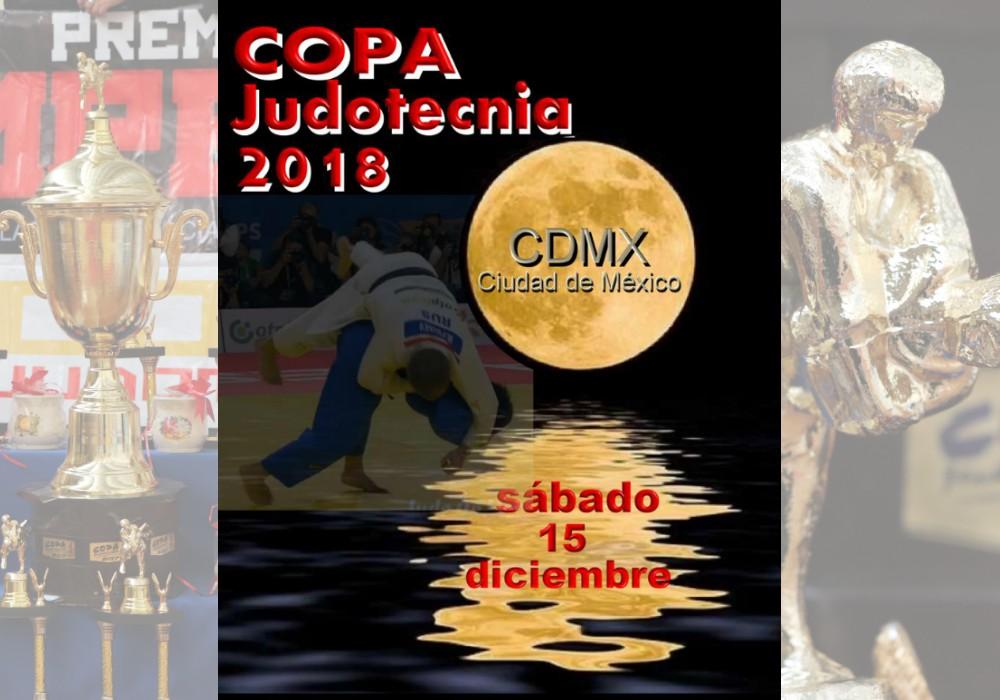 """Por fin, se dio a conocer la fecha en que se realizará la """"Copa Judotecnica 2018"""", uno de los torneos y reuniones de judo más importantes de CDMX."""
