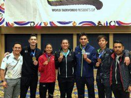 Destacada presentación tuvo el equipo de la Selección Mexicana de Taekwondo en la Copa Presidentes 2018, realizada en Las Vegas, Estados Unidos.