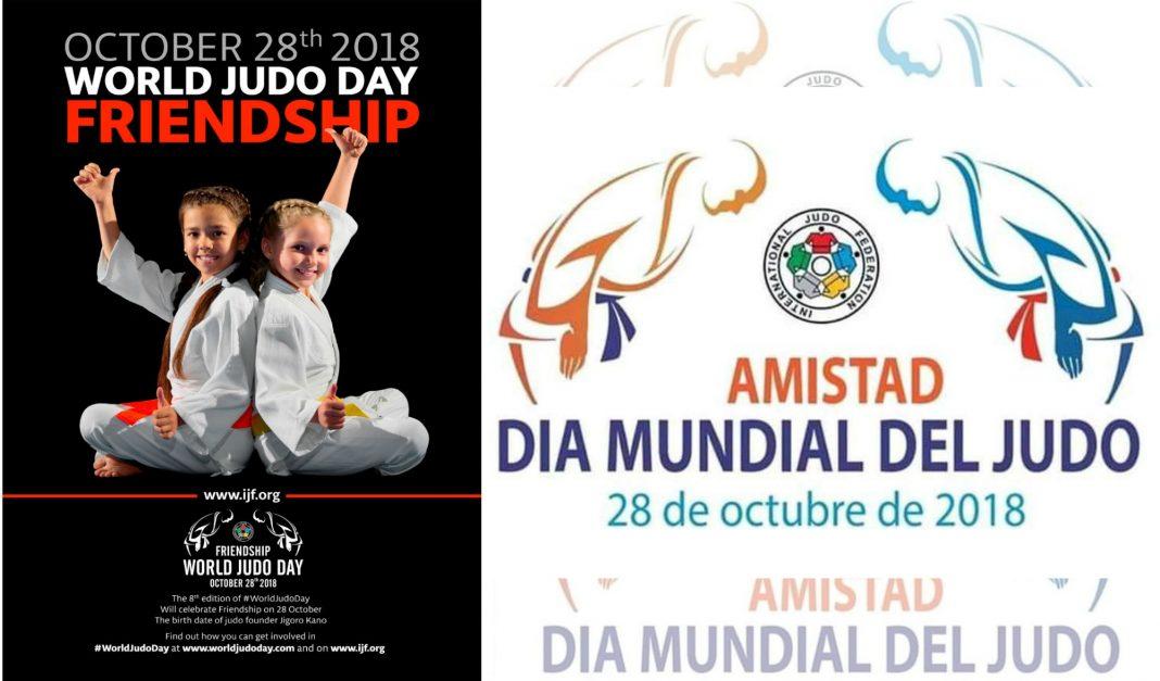 """Bajo el lema de la """"Amistad"""", más de 40 millones de practicantes del """"Camino a la Suavidad"""", festejan este 28 de octubre el Día Mundial del Judo',donde haciendo honor a esta palabra, se llevó a cabo el Grand Slam de Abu Dhabi."""