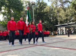 Fue abanderada la Delegación Mexicana que competirá en los Juegos Olímpicos de la Juventud Buenos Aires 2018, del 6 al 18 de octubre, y donde se encuentran exponentes de artes marciales de taekwondo y judo.