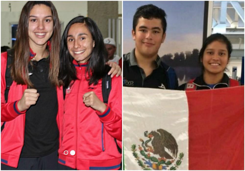 Con la representación de exponentes de taekwondo y judo, este día salió el primer contingente de la Delegación Mexicana que participará en los Juegos Olímpicos de la Juventud Buenos Aires 2018.
