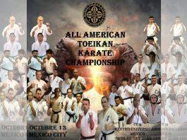 """a energía de los kumites (combates) del karate kyokushinkai estará presente en la Ciudad de México (CDMX), donde se llevará a cabo The 2nd Open Tournament: """"All American Toeikan Karate Championship""""."""