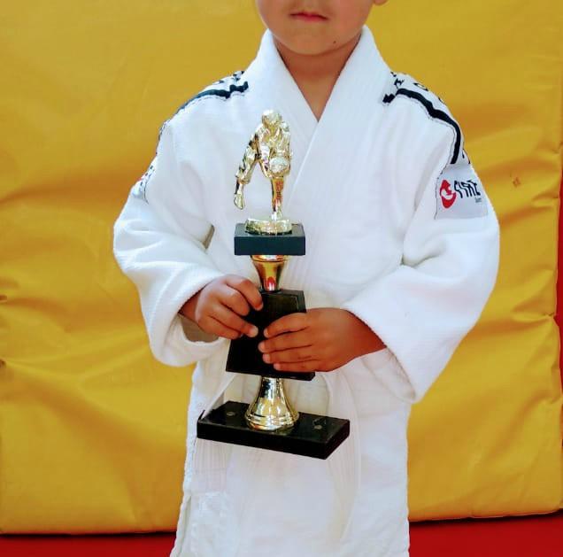 Modelo trofeo Copa Judotecnia 2018. (Foto Cortesía).