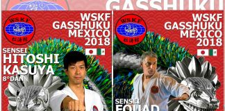 Todo se encuentra listo para que esta semana se lleve a cabo el Seminario Internacional WSKF Gashuku México 2018, XXXIII Campeonato de Invitación Shotokan Karate Do México y XII Copa Shihan Pedro Flores.