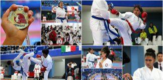 """Con una gran convocatoria que rompieron el récord de participación, se llevó a cabo el 2º Selectivo Estatal de Karate de la Ciudad de México y Juegos Deportivos Infantiles y Juveniles de la CDMX 2018-2019, realizado en el Gimnasio Olímpico """"Juan de la Barrera""""."""