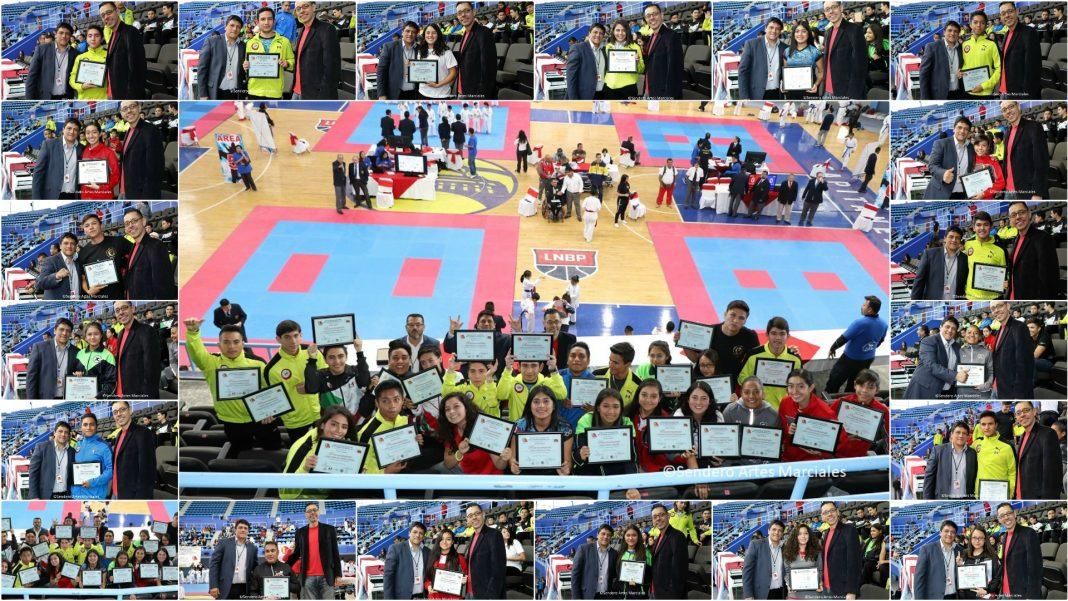 Como una manera de reconocer el esfuerzo realizado en entrenamientos y demostrado en competencia, integrantes de la Selección de Karatedo de la Ciudad de México (CDMX) fueron reconocidos por sus logros obtenidos en eventos nacionales e internacionales a lo largo del año.