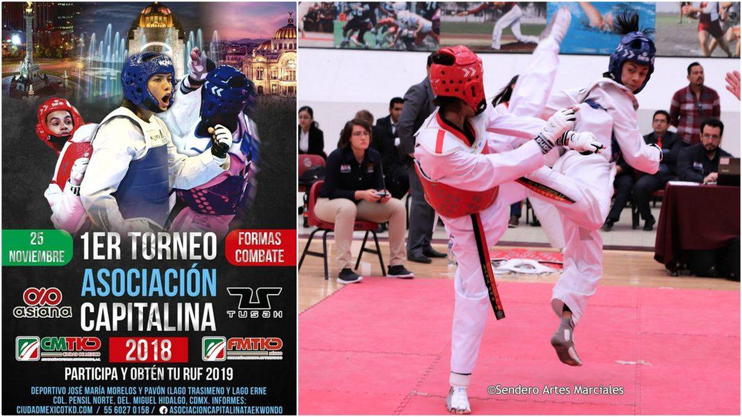 A punto de agotarse se encuentran los registros de competencia para el 1er Torneo Asociación Capitalina de Taekwondo 2018, en el cual los participantes podrán obtener el Registró Único Federado (RUF).