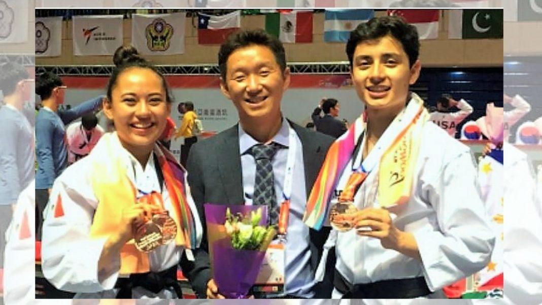 La Selección Mexicana que compite en el Campeonato Mundial de Taekwondo Poomsae Taipéi 2018, que se realiza en China, abrió con dos medallas de bronce por cuenta de Ana Zulema Ibáñez, en las modalidades de freestyle y en pareja, al lado de Leonardo Juárez.
