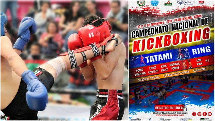 Gran fin de semana de combates se espera en el Domo del Deportivo Plan Sexenal de la Ciudad de México (CDMX), el cual será escenario del Campeonato Nacional de Kickboxing.