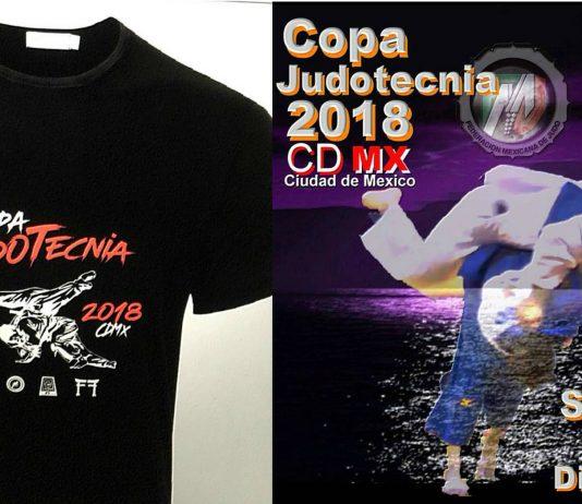 La Copa Judotecnia Mexico 2018 continúa los preparativos ya cuenta el diseño de las playeras que se entregarán a los primeros 350 competidores inscritos a este gran evento que se llevará a cabo el 15 de diciembre, en el Gimnasio del Deportivo Victoria de las Democracias CDMX.