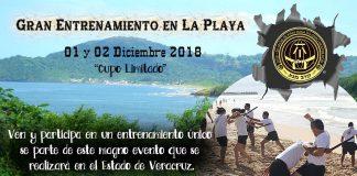 Un magno evento alista la Federación Sudamericana de Krav Maga-México, cuyos integrantes y personas interesadas realizarán un intenso entrenamiento especial en una playa mexicana, donde además de reforzar su condición física, afinarán técnicas de defensa personal.