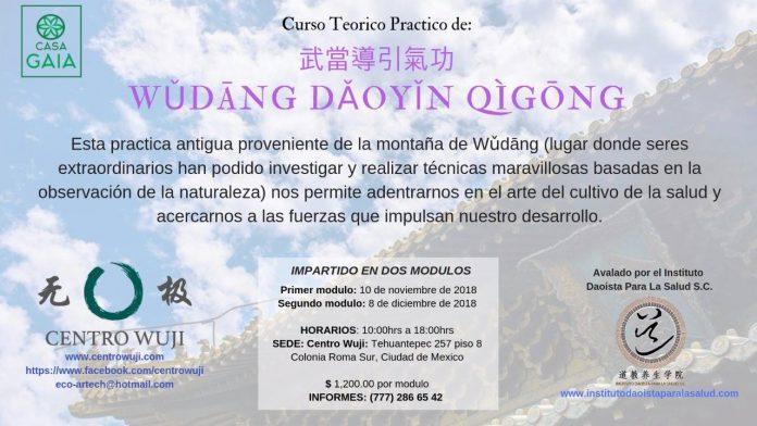Una gran oportunidad de conocer técnicas taoístas para la mantener y obtener una buena salud por medio de ejercicios que fortalecen e incrementan la energía interna de la persona, ofrecerá el Centro Wuji CDMX.