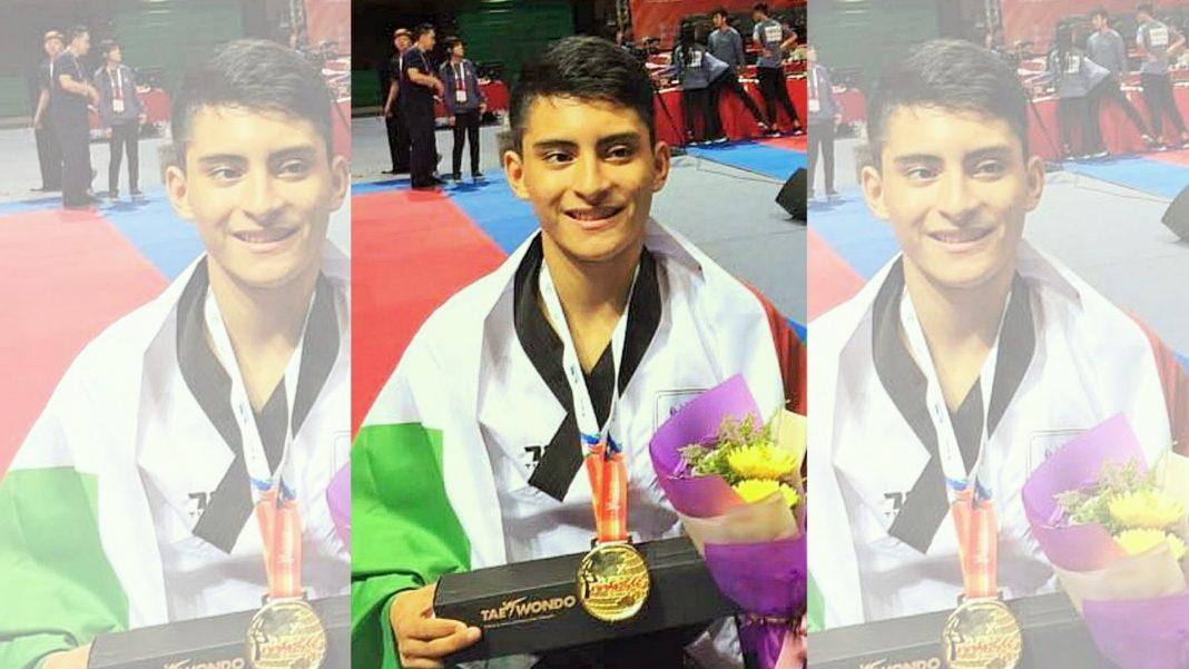 El taekwondoín oaxaqueño William Arroyo se convirtió en bicampeón del orbe tras conquistar la presea de oro en el Campeonato Mundial de Poomsae Taipéi 2018.
