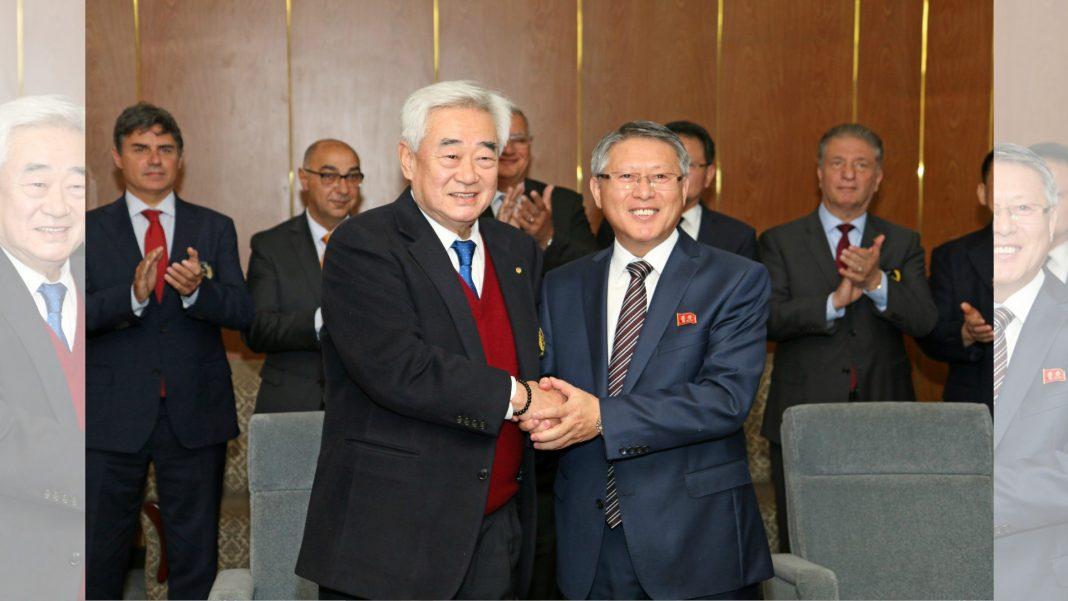 A fin de integrar el taekwondo que se practica en todos los continentes, la WT y la ITF firmaron un acuerdo para unificar el arte marcial y formar un comité conjunto.