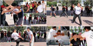 Con una demostración y entrenamiento con lo más básico de las técnicas de defensa personal, la Federación Sudamericana de Krav Maga-México (FSAKM-Mx) estuvo presente en el inicio de las actividades para la recomposición social y contra la inseguridad en la Alcaldía de Iztacalco de la Ciudad de México.