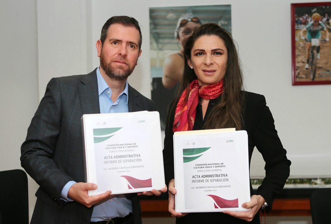 Ana Gabriela Guevara tomó formalmente la titularidad de la CONADE, la cual tendrá reducción de 600 millones de pesos en su presupuesto para 2019