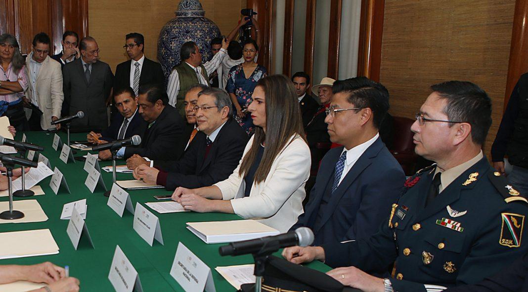 Ana Gabriela Guevara Espinoza tomó protesta este jueves como titular de la Comisión Nacional de Cultura Física y Deporte (CONADE).