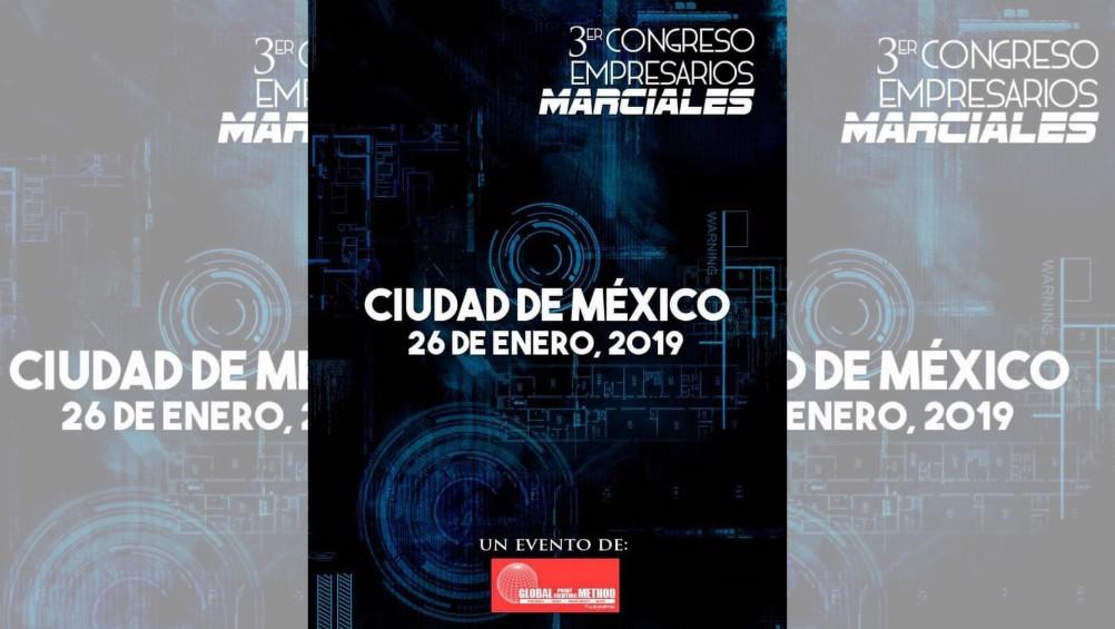 La Ciudad de México (CDMX) será sede del 3er Congreso Empresarios Marciales, en el cual participarán ponentes de primer nivel y con experiencia en el emprendimiento y desarrollo de negocios con base en el desarrollo y promoción de estas disciplinas