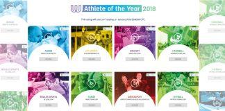 Representantes de las disciplinas de aikido, kickboxing, sumo, karate, jiujitsu, muaythai, forman parte de las 25 candidaturas para elegir al Atleta de los Juegos Mundiales 2018,