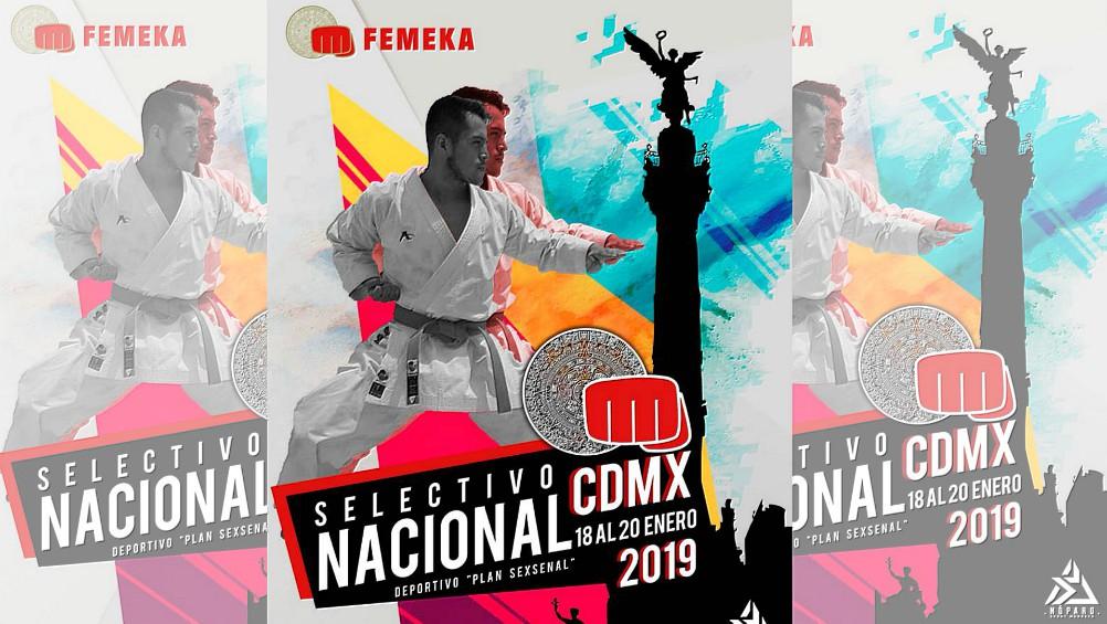 Selectivo Nacional Karate FEMEKA (Imagen FEMEKA).