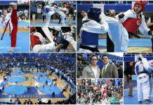 """Con gran entusiasmo y nivel técnico, un gran número de competidores de taekwondo se dieron cita en el Gimnasio Olímpico """"Juan de la Barrera"""" para ser parte de los Juegos Deportivos Infantiles, Juveniles y Paralímpicos CDMX."""
