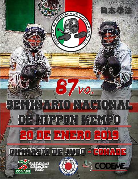 87° Seminario Nacional Federación Mexicana de Nippon Kempo 2019