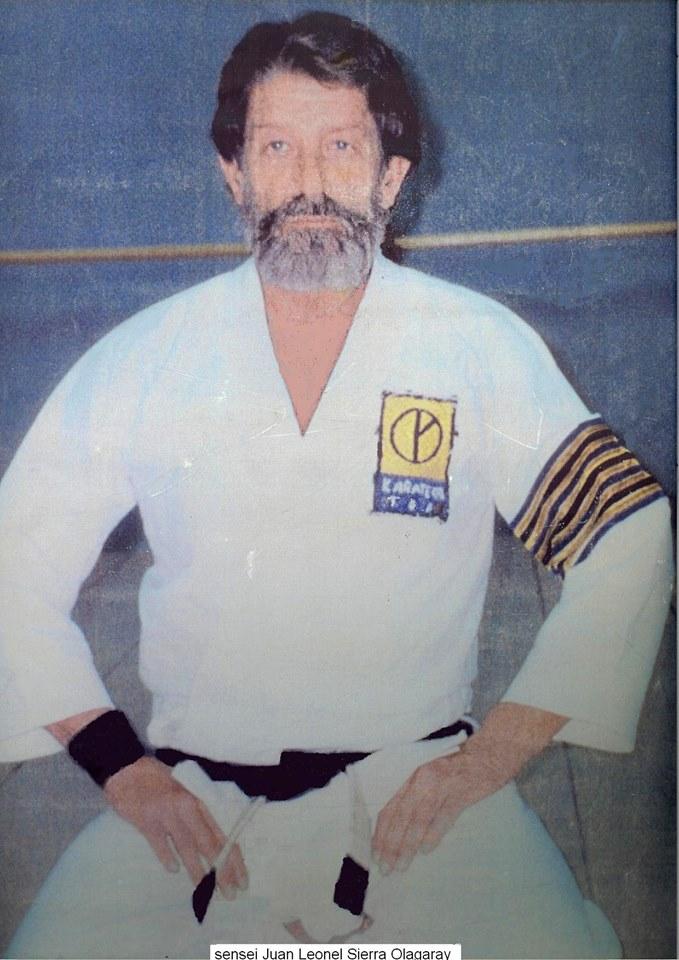 Sensei Juan Leonel Sierra Olegaray, Fundador Casa del Sol Karate Do TDA. Foto Cortesía.