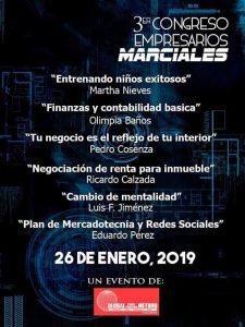3er Congreso Empresarios Marciales