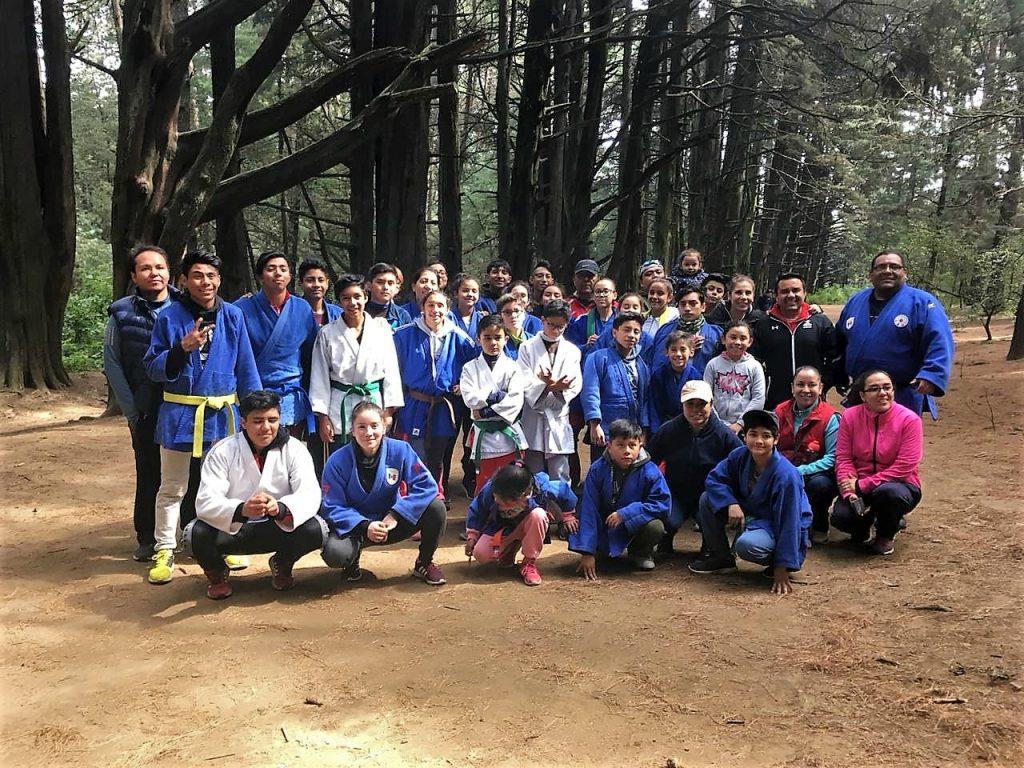 Grupo de Judo CDMX. Foto Cortesía.