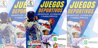 """La ACTKD anunció que los Juegos Deportivos Infantiles, Juveniles y Paralímpicos CDMX 2018-2019, selectivo a Olimpiada Nacional y Nacional Juvenil 2019, se llevará a cabo en el Gimnasio Olímpico """"Juan de la Barrera""""."""