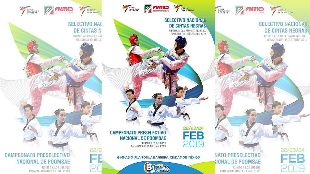El próximo febrero será el mes en el que la Federación Mexicana de Taekwondo (FMTKD), arrancará con sus eventos en la Ciudad de México (CDMX), con miras a eventos internacionales de primer nivel.