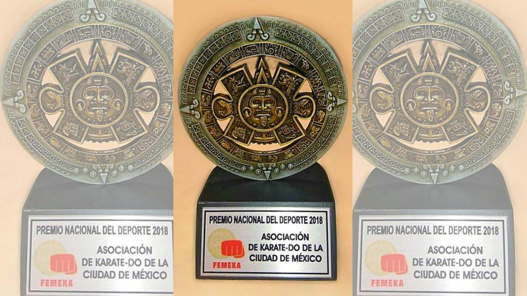 Gracias a su gran participación en eventos nacionales e internacionales, la Asociación de Karatedo de la Ciudad de México recibió el Premio Nacional del Deporte FEMEKA 2018.