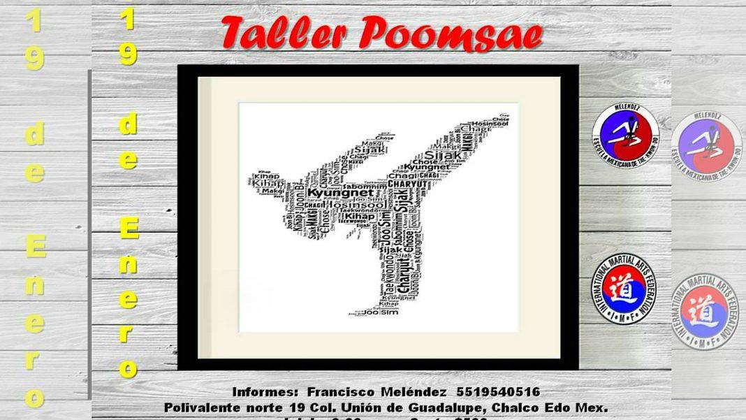 Practicantes de taekwondo tendrán oportunidad de enriquecer su acervo de conocimientos históricos y del desarrollo de este arte marcial a través del Taller de Poomsae (formas).