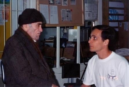 Imi LIchtenfeld con Kobi Lichtenstein. Foto FSAKM