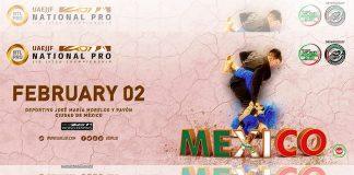 Por segunda ocasión, la Ciudad de México será sede de México National Pro 2019, uno de los circuitos y campeonatos de jiujitsu más importantes del mundo que forma parte del ranking mundial UAEJJF y de la serie de clasificación de Jiu-Jitsu Profesional Mundial de Abu Dhabi, el cual estará abierto a todas las categorías y nacionalidades.
