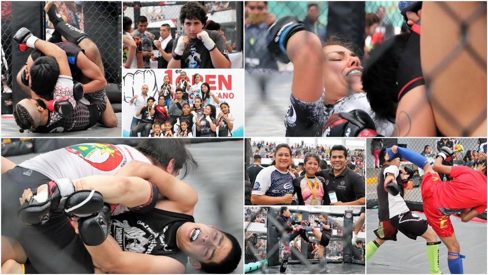 Con un gran ambiente deportivo y familiar, se llevó a cabo el 1er Open Metropolitano de Artes Marciales Mixtas y Deportes de Combate en Ecatepec, Edo. Méx., el cual fue un gran paso para el desarrollo de la disciplina para promover el deporte y combatir adicciones y actos negativos entre la población.