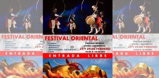 Artes marciales, gastronomía, música y danzas, entre otras expresiones de culturas asiáticas, estarán presentes en el Festival Oriental 2019, el cual se llevará a cabo el próximo fin de semana en el Foro Lindbergh del Parque México, CDMX.