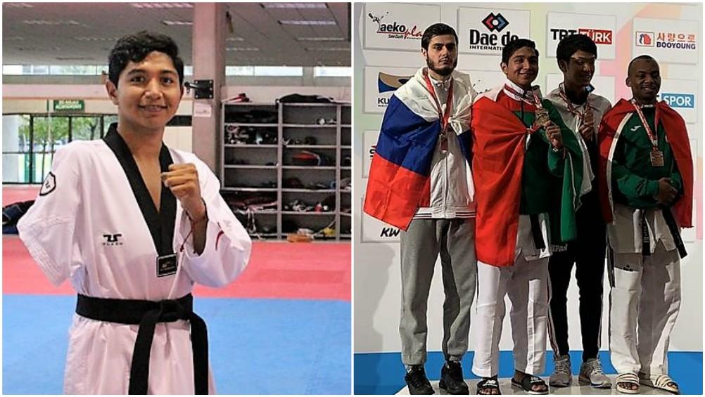 El sinaloense Juan Diego García López, de 16 años de edad, escribió su nombre con letras de oro en la historia del deporte nacional, al ganar la medalla dorada en el Campeonato Mundial de Parataekwondo, en Antalya, Turquía.