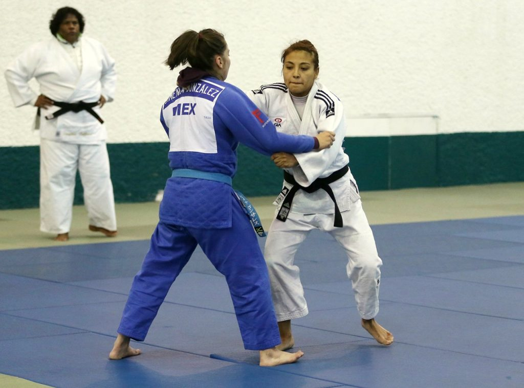 Luz Olvera, Selección Mexicana de Judo. Foto CONADE.