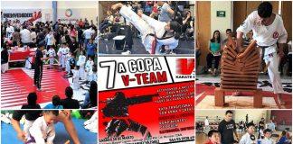 """Gran expectación ha generado la próxima 7ª Copa """"7ª Copa V-Team Karate Do"""", entre las que se encuentra la participación de más de 75 competidores, la presencia del equipo de la Selección Mexicana de Para-Karate, así como el debut de las competencias de kickboxing en ring."""