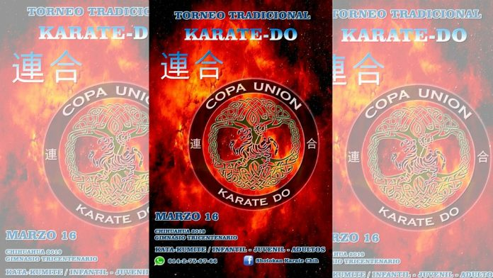 """El gimnasio del Centro Deportivo Tricentenario de Chihuahua será escenario del torneo de karate do """"Copa Unión 2019"""", en el cual se espera la participación de practicantes del arte marcial de la zona norte del país, e incluso, del sur de los Estados Unidos."""