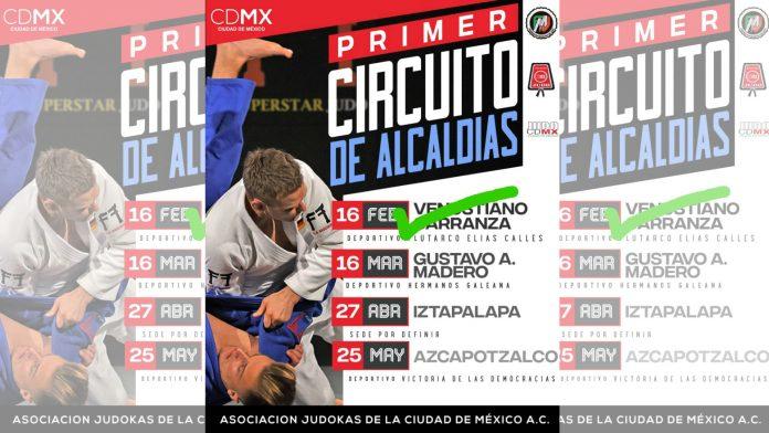 Este fin de semana se llevará a cabo la segunda fecha del Primer Circuito de Judo de la Ciudad de México (CDMX), con lo cual se busca promover el arte marcial a través de torneos en las diferentes regiones de la capital de México.